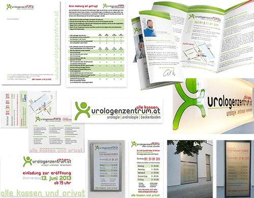 Corporate Design Logo Arztpraxis Ordination Arzt Praxis Medmentor Natascha Thoermer