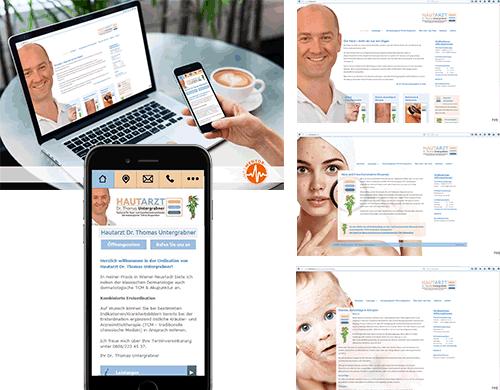 Webpräsenz Homepage Internet Arztpraxis Ordination Medmentor